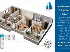 Apartament 3 Camere Decomandat, Militari,Iuliu Maniu