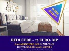 Luna Cadourilor! DISCOUNT -50 Euro/mp la garsoniere doar la Envogue Residence