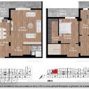 UNIRII Nerva Traian, PENTHOUSE 4 camere decomandate, orientare E-SE