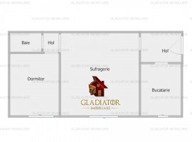 Apartament 2 camere, renovat complet, zona Alexandru cel Bun - Zimbru