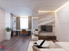 Apartament 1 camera, bloc nou, Tudor Vladimirescu, comision 0%