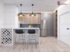 Apartament 1 camera, 40 mp, bloc nou, comision 0%, Tudor