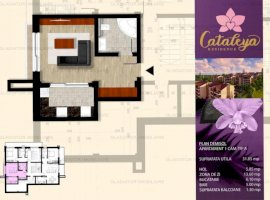 Apartament o camera Bucium, tip 2A, 32 mp, comision 0%
