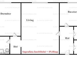 Apartament cu 2 camere in Piata Unirii