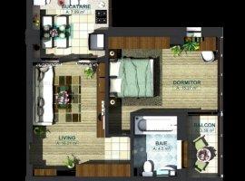 Apartament 2 camere, bloc nou 2019, zona Baza 3