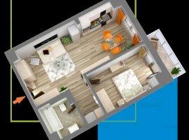 Apartament 2 camere bloc NOU nicolina FINALIZAT