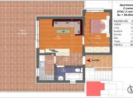 NOU | Apartament Impecabil 2 Camere | 86 MP Utili | Pallady