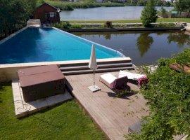 NOU | Casa Impecabila | Lac in curte | 8 Camere | Zona Corbeanca