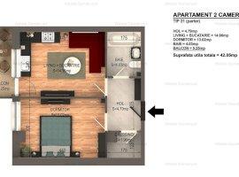 Apartament 2cam  Bragadiru 42mp bloc nou 30000 euro Rate Dezvoltator