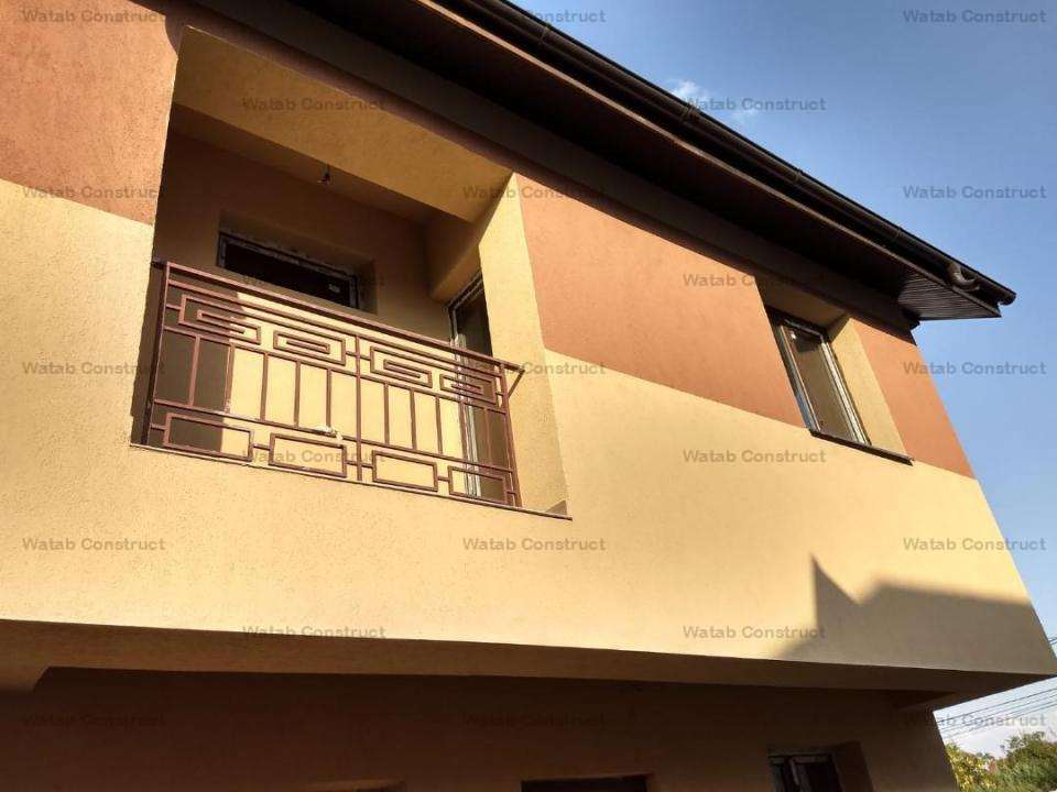 Vila 3cam 86mp utili curte 30mp in ansamblu de 7 vile insiruite Dantelei 80000 euro