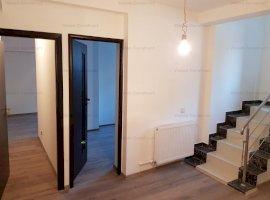 Spatiu birouri ,compartimentat{4},baie,bucatarie,pe doua nivele,scara interioara ,83mp utili cu tera