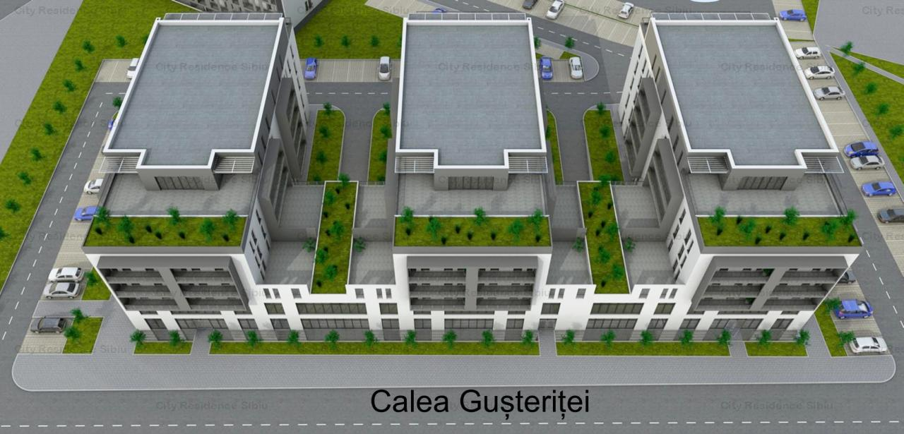 Apartament 3 camere | Model Tip 1 | 63.77 mp | 12 B