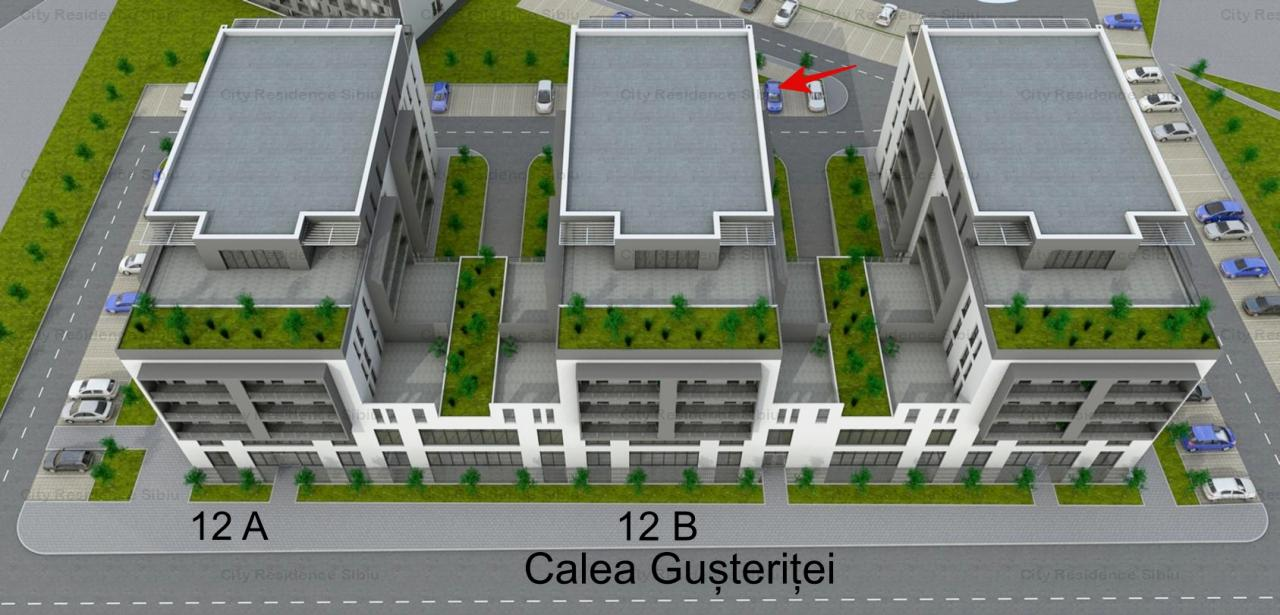 Apartament 3 camere   In constructie   2 bai