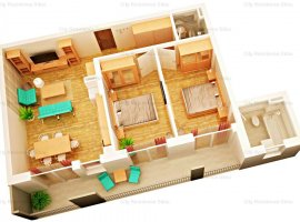 Apartament 3 camere, nou - etaj intermediar, 2 bai - Lazaret