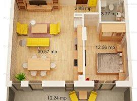 Apartament 2 camere | Open space | Imobil 12 B