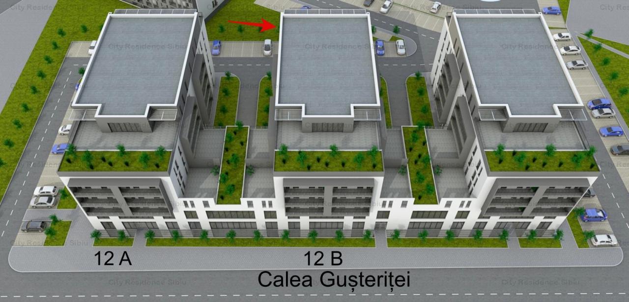 Apartament 3 camere | Etaj 3 | 63 mp