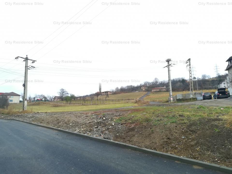 Teren intravilan, 1160 mp, Gusterita - str. Gorunului - cu PUZ - Sibiu
