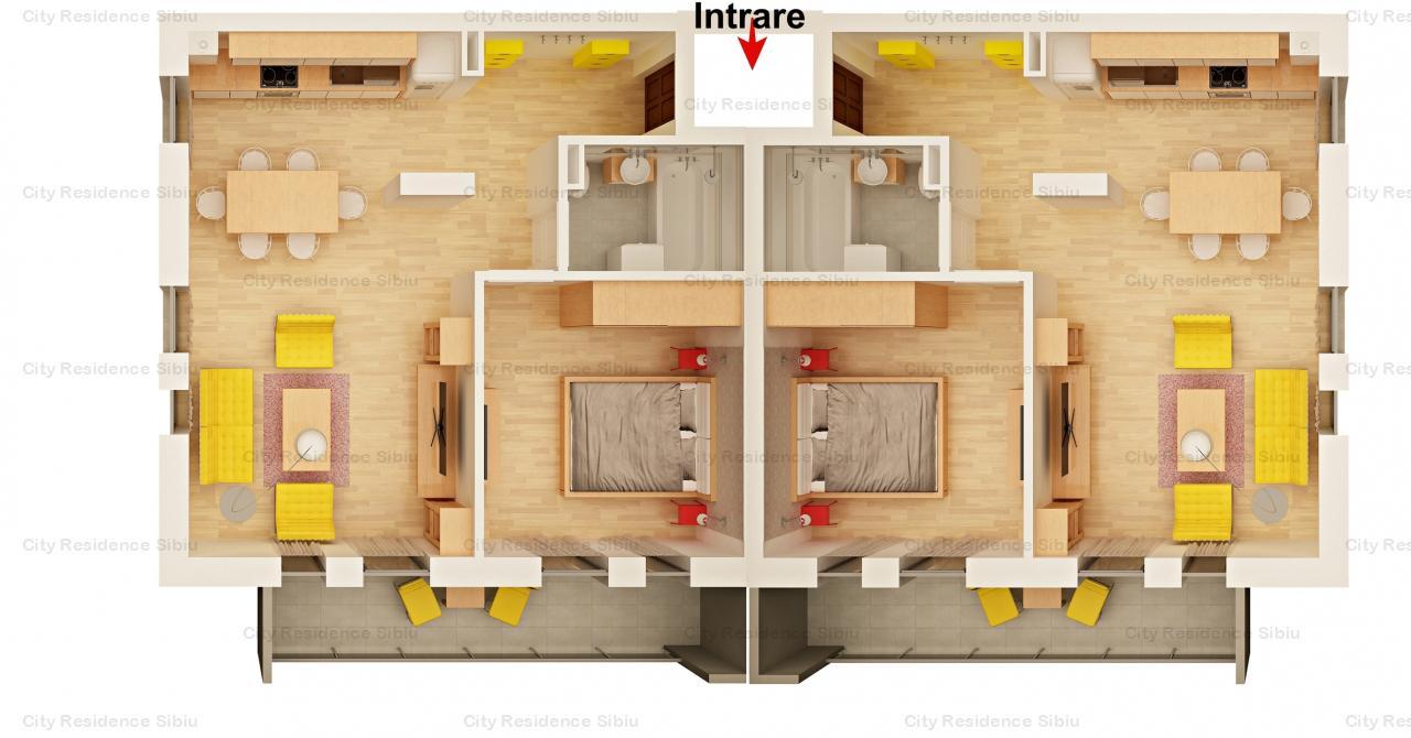 Apartament 4 camere | Imobil 12 A | Predare 2020