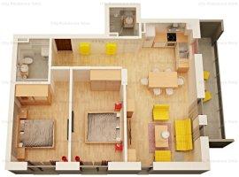 Apartament 3 camere | Imobil 12 A | Etaj 2