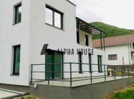 Casa noua + teren 2800 mp in Gura Raului,Sibiu