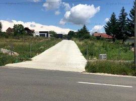 Teren constructii 2050 mp + casa Cisnadioara