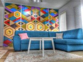 Apartament de lux 3 camere, etaj 1 , 2 locuri de parcare, zona Pictor Brana Selimbar