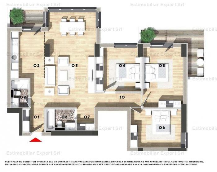 Apartament 4 camere Cernica-Pantelimon