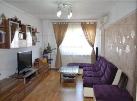 Apartament 3 camere mobilat si utilat modern/lux