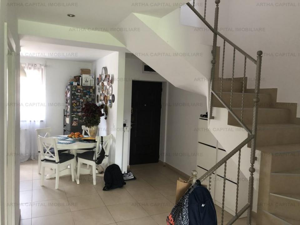 Casa cu piscina de inchiriat in complexul Trend Residence