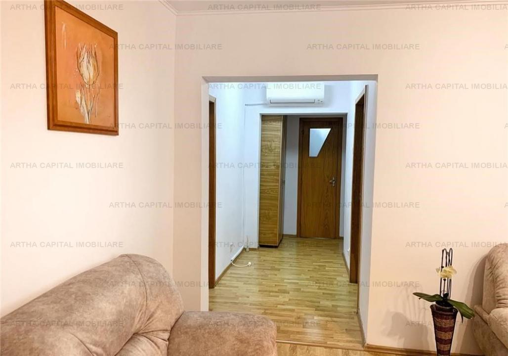 Apartament 3 camere mobilat si utilat modern, aproape de metrou