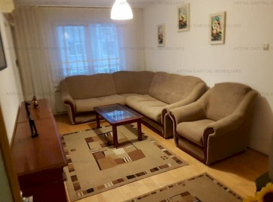Apartament 4  camere  utilat si mobilat modern