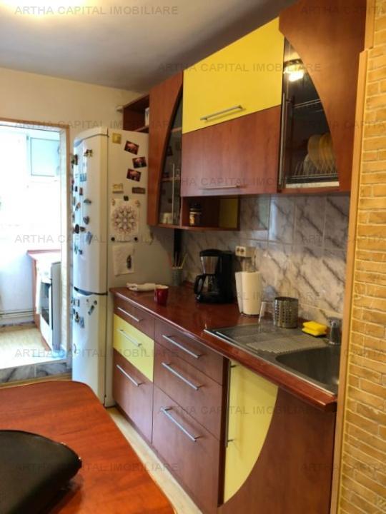 Apartament 3 camere decomandat, mobilat si utilat modern
