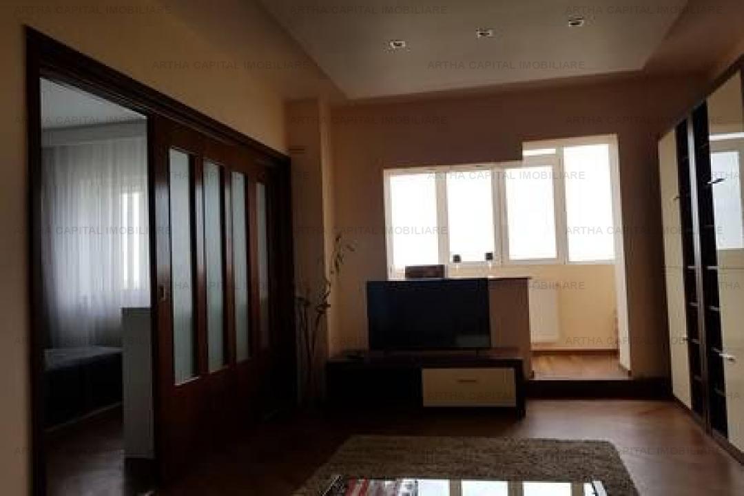 Apartament4 camere 80 mp mobilat utilat modern cu 2 locuri de parcare