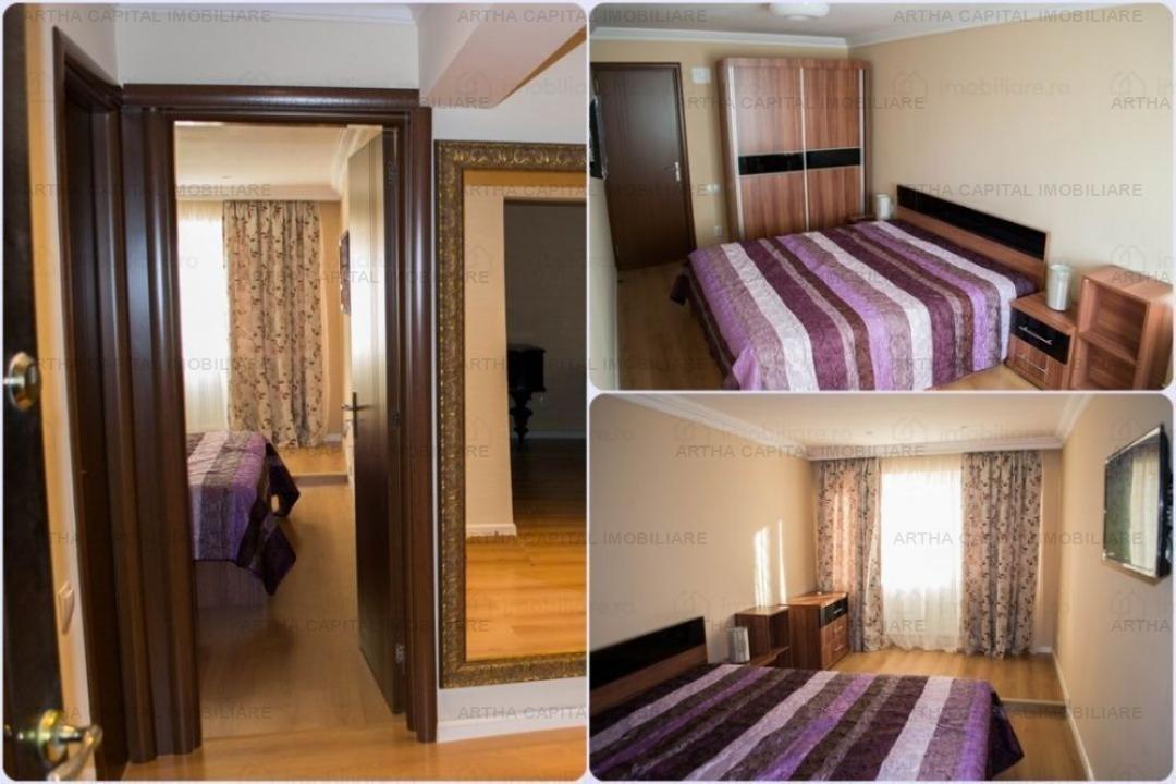 Apartament 4 camere mobilat si utilat modern