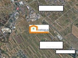Centura Bucuresti-Magurele, 1400mp hala-birouri, 5500mp teren, acces tir