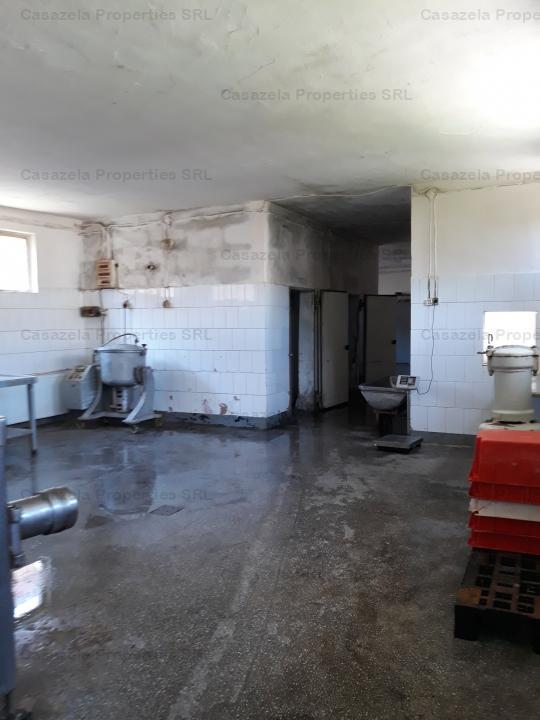 Hala productie (abator, sectie preparate din carne) FELDRU- BISTRITA NASAUD