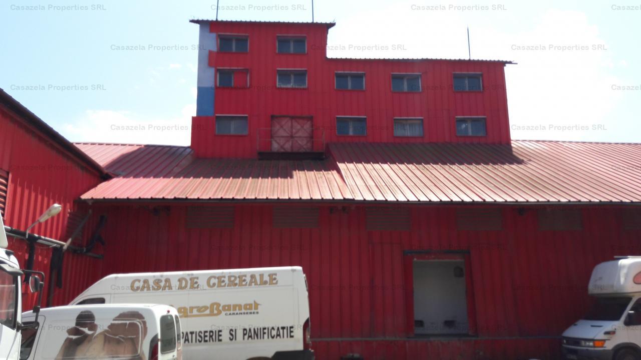 Vanzare moara si hale 3442mp, cu teren aferent de 2524 mp, Caransebes