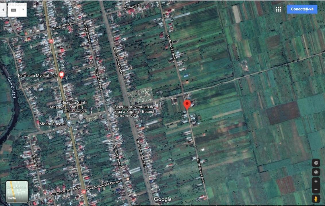 Teren 4900 mp - Sat Bucesti, Comuna Ivesti