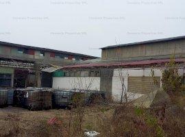 Spatiu industrial cu teren aferent 4,979mp, de vanzare, zona Rafinaria Brazi, Prahova
