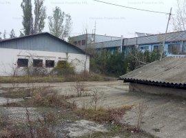 Spatiu industrial cu teren aferent 2,282mp, de vanzare, zona Rafinaria Brazi, Prahova