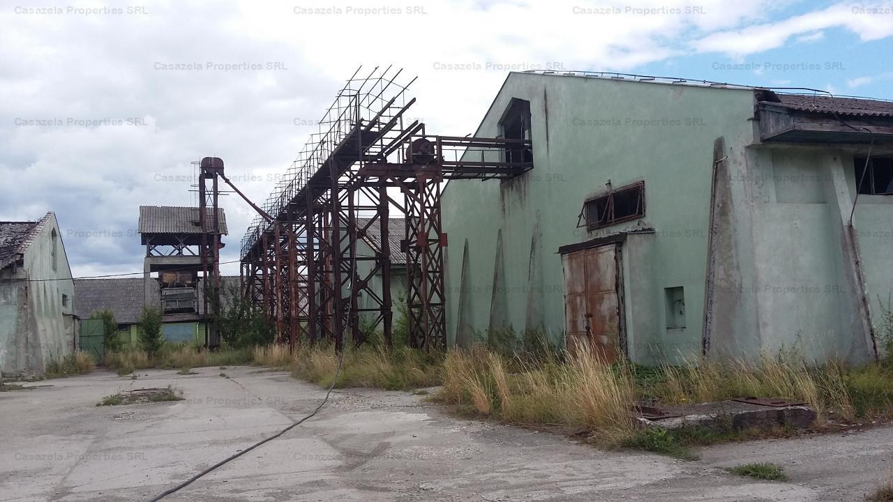 Spatiu industrial 3,462mp, Baraolt, jud. Covasna