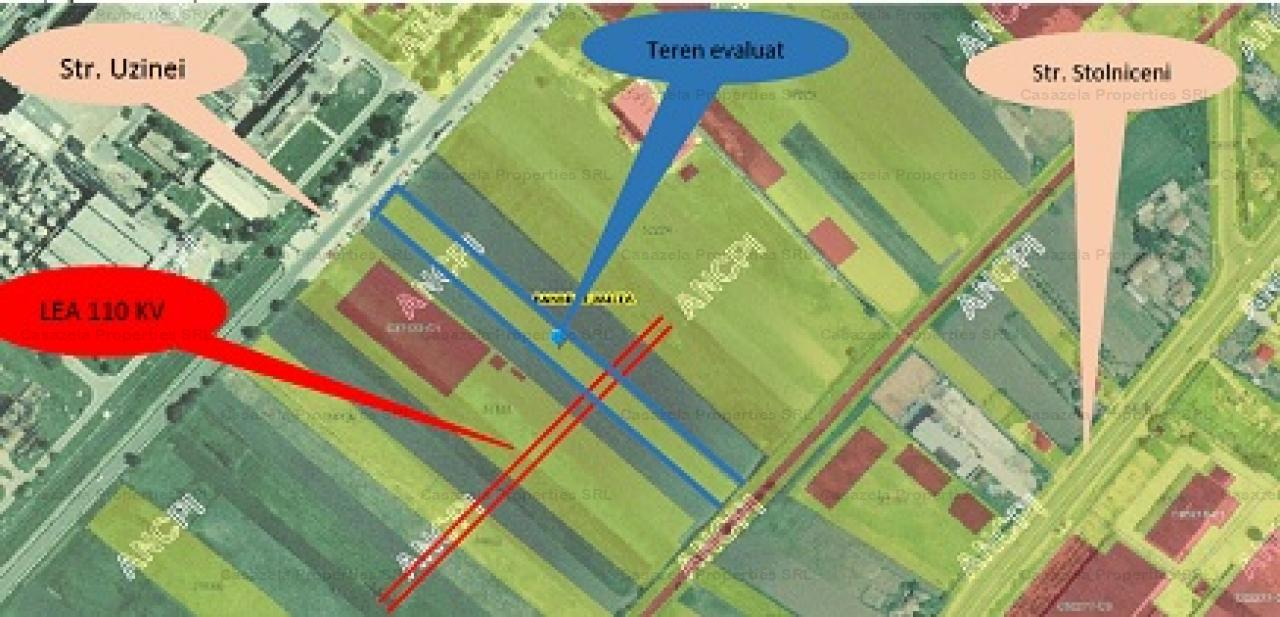 Teren intravilan, 3752,42 mp, str. Stolniceni, Ramnicu Valcea
