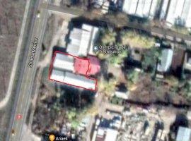 Spatiu industrial 595 mp si teren 991 mp in localitatea Urziceni