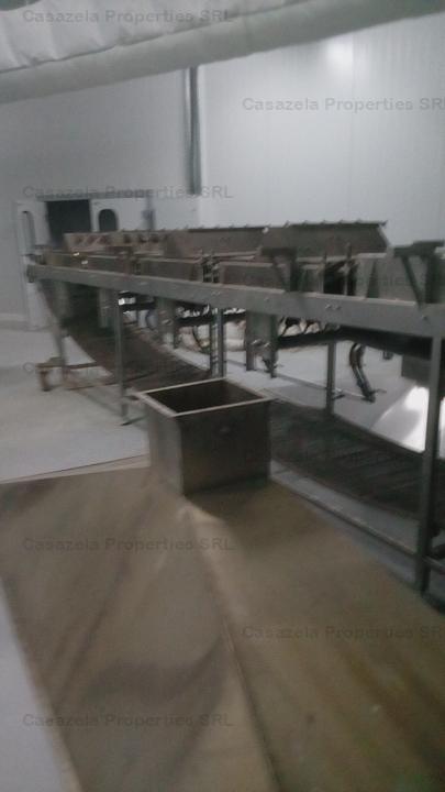 Oportunitate investitie - spatiu de productie complet echipat, Vidra - jud. Ilfov