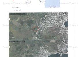 5 loturi de teren ce formează parcela A 105/29 în suprafață totală de 2410 mp , plus cale de acces