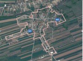 Teren intravilan-destinatie rezidentiala 2.400 mp, localitatea Simnicu de Sus.