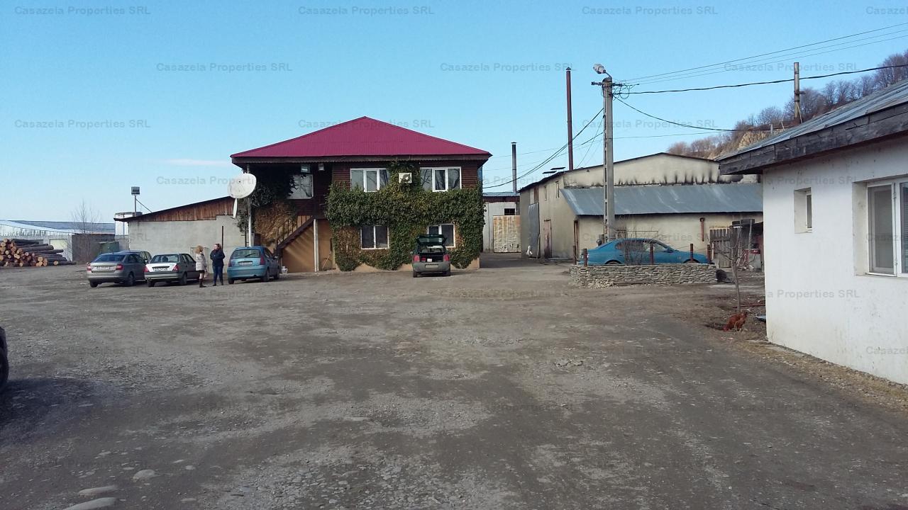 Teren si hala de productie - Tifesti, Vrancea