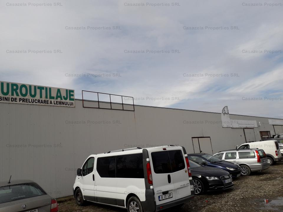 Spatiu industrial si teren aferent de 16,575 mp, mun. Focsani, judetul Vrancea