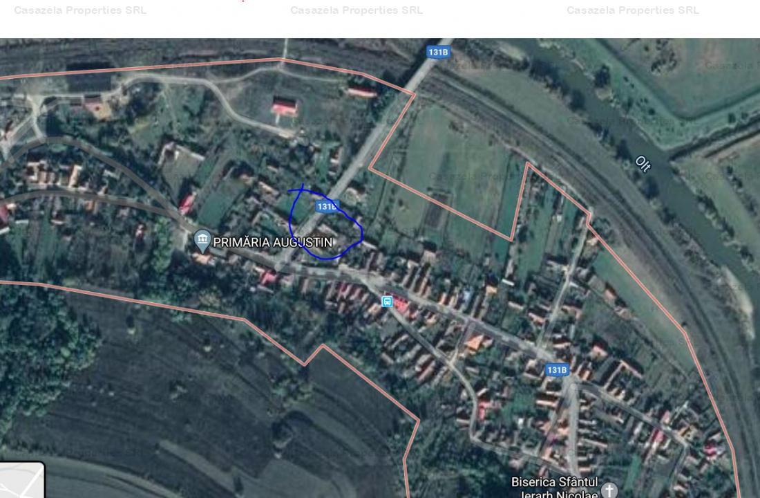 Casa P+1+M si teren situate in localitatea Augustin, jud. Brasov (executare silita)