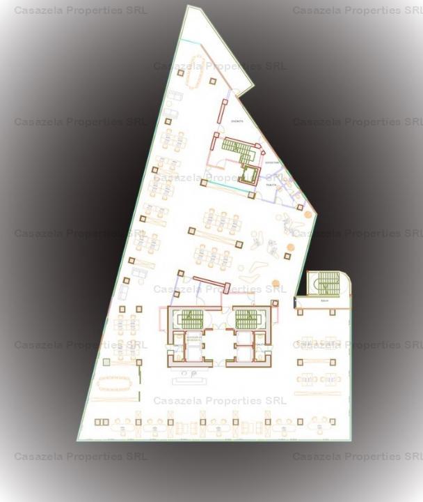 Cladire de birouri Clasa B, cu locatie premium, in vecinatatea Pietei Victoriei